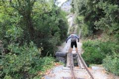 Pilion Milies Schmalspurbahn