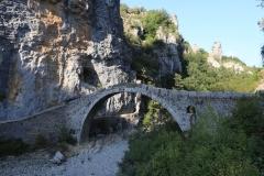 Nordgriechenland Kipi Brücke