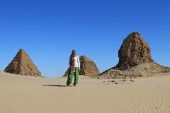 Sudan - Nuri Pyramiden Dezember 2019