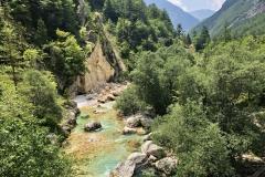 Slowenien - Soca Tal Juli 2019