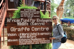 Kenia Nairobi Giraffe Center