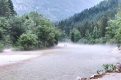Triglav NP - Campingplatz Klin Lepena