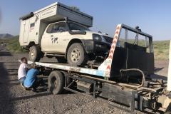 Äthiopien Motorschaden