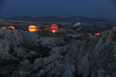 Türkei Kappadokien Red Valley Balloons