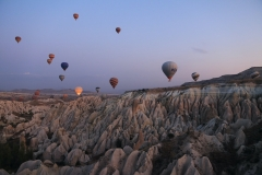 Türkei Kappadokien Red Valley Balloons
