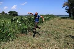 Uganda Entebbe Victoriasee